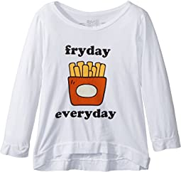 The Original Retro Brand Kids - Fryday Everyday 3/4 Tri-Blend Pullover (Big Kids)