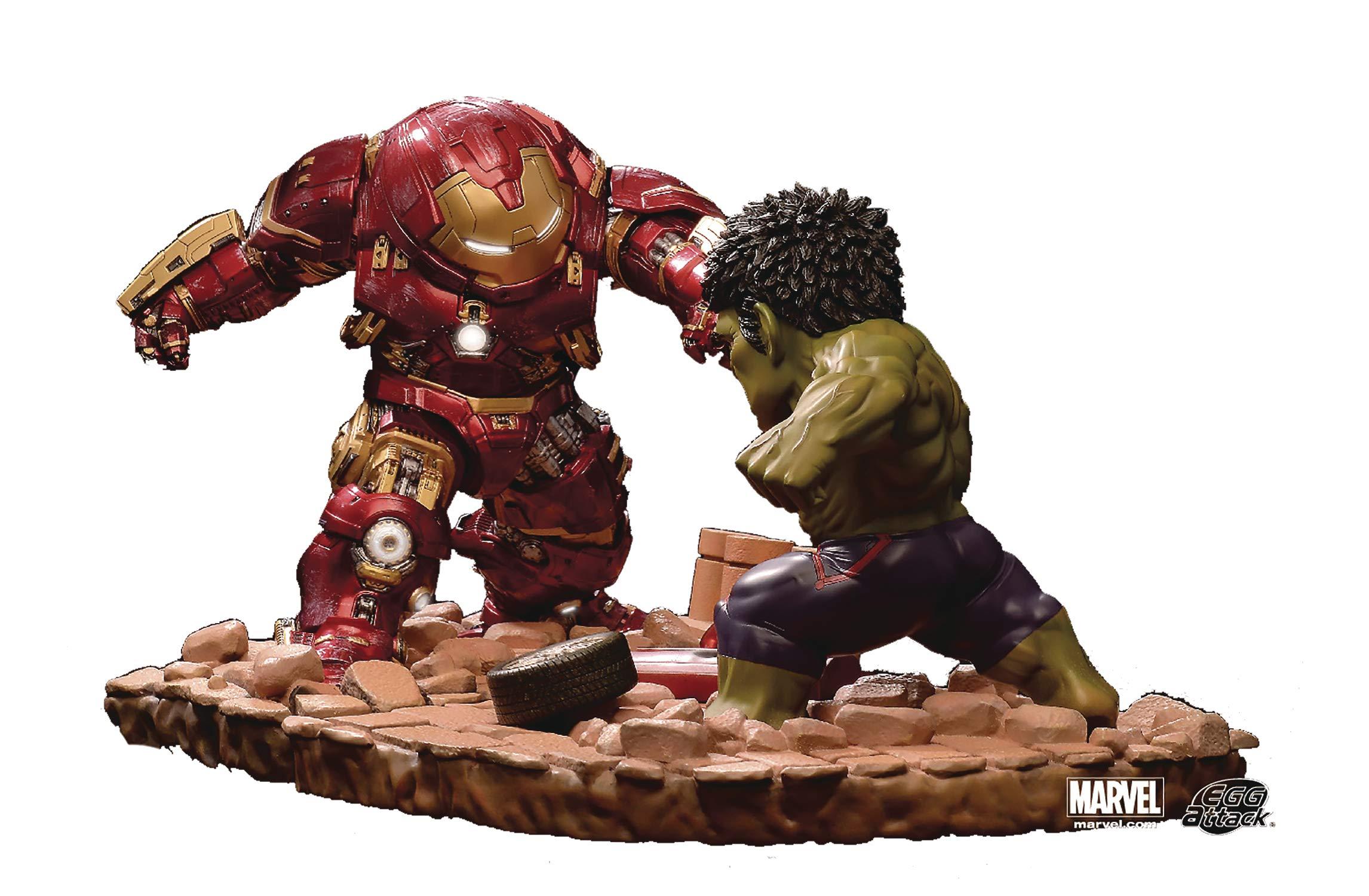 Vengadores La Era de Ultrón Pack de 2 Estatuas Egg Attack ...