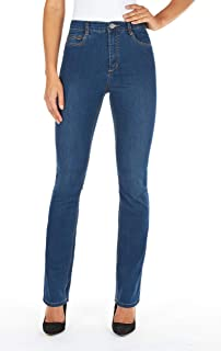 FDJ French Dressing Women's Peggy Curvy Fit Straight Leg Jeans - Petite