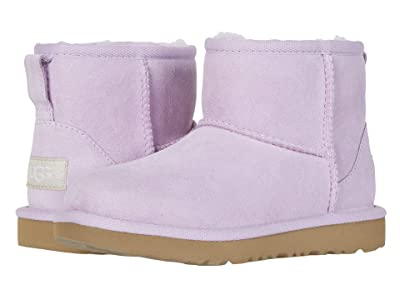 UGG Kids Classic Mini II (Little Kid/Big Kid) (California Aster) Girls Shoes