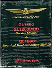 61MCA66 2012 ? 2017 Honda GL1800A/B GoldWing Motorcycle Service & Electrical Troubleshooting Manual