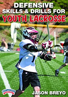 Championship Productions Jason Breyo: Defensive Skills and Drills for Youth Lacrosse DVD