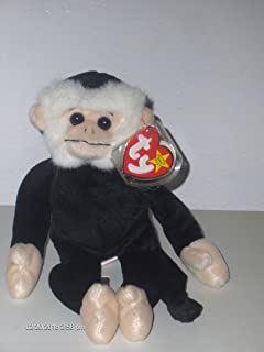 Smartbuy TY Beanie Babies Mooch The Spider Monkey Stuffed Animal Plush Toy - 9 inches Tall