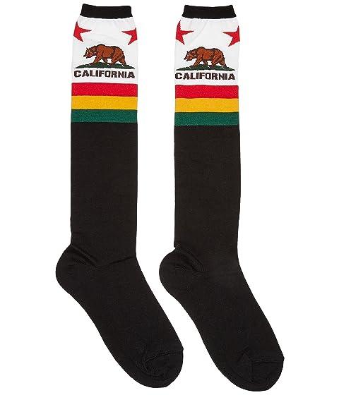 Negro Alto Bear California Socksmith Rodilla A0azOwq