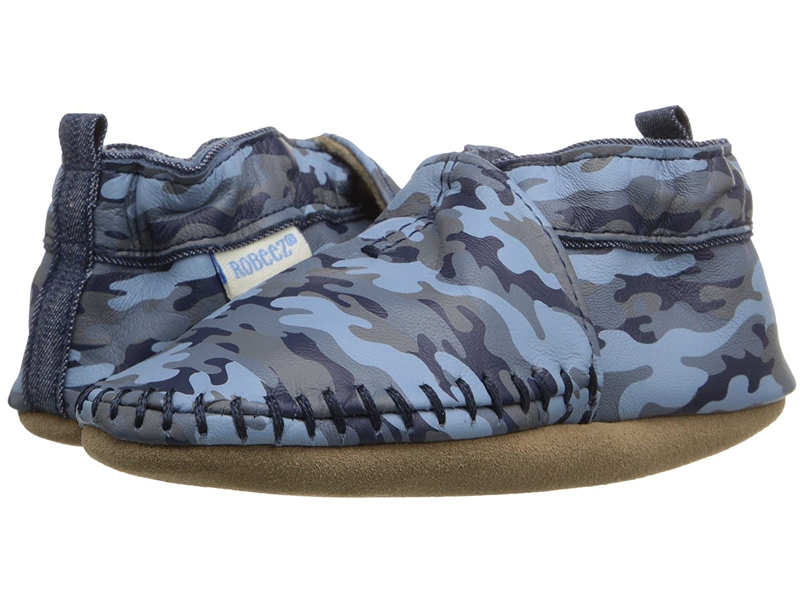 Robeez Premium Leather Classic Moccasin Soft Sole (Infant/Toddler)Atmospheric grades have affordable shoes