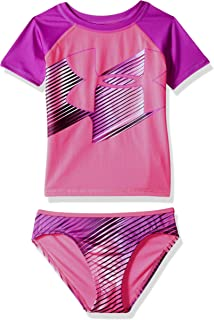 baa35747b46 Under Armour Little Girls' Rashguard Set