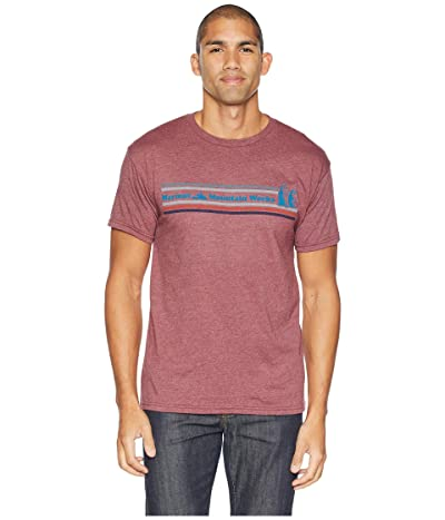 Marmot MMW Short Sleeve T-Shirt (Burgundy Heather) Men