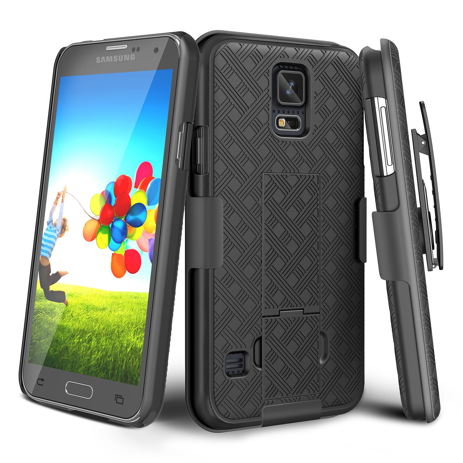 galaxy s5 cases with designs amazon comgalaxy s5 case, till [thin design] holster locking belt swivel clip non