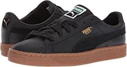 Puma Kids Basket Classic Gum Deluxe (Big Kid)