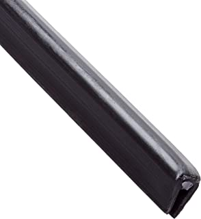 Panduit GES62F-A-C0 Solid Grommet Edging, Adhesive Lined, Black (100-Foot)