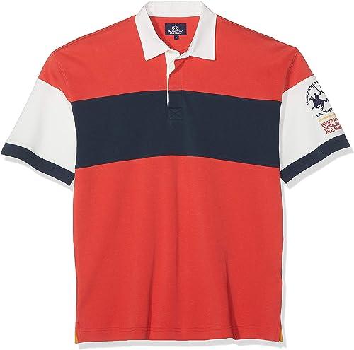 La Martina Man Polo S S Jersey Interlock Homme