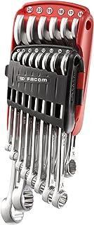 FACOM 440. JP14PB set met 14 vork-ringsleutels, 1 stuks