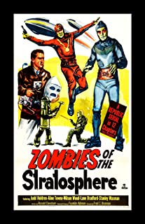 Retro Sci-Fi Journal, Zombies of the Stratosphere by Monkey up a Tree