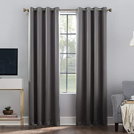 Best Home Fashion Premium Blackout Curtain Panels Solid Thermal Insulated Window Treatment Blackout Drapes For Bedroom Back Tab Rod Pocket 52 W X 63 L Beige Home