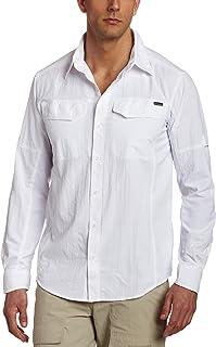 Columbia Men's Silver Ridge Long-Sleeve Shirt, Moisture Wicking