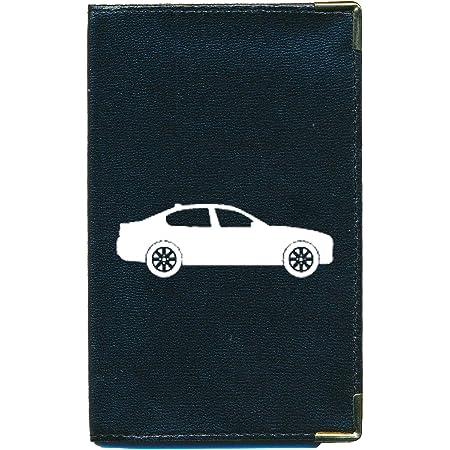 Syl'la - Funda para tarjeta gris, permiso de conducir, documentos de coche planos, coche (negro) - cg-tpas