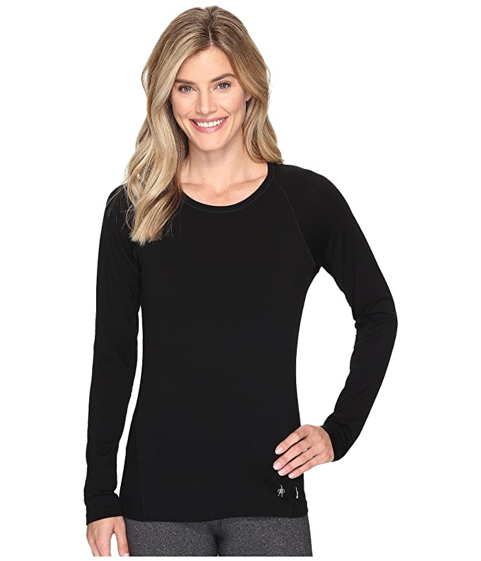 Smartwool Merino 150 Baselayer Long Sleeve (Black) Women