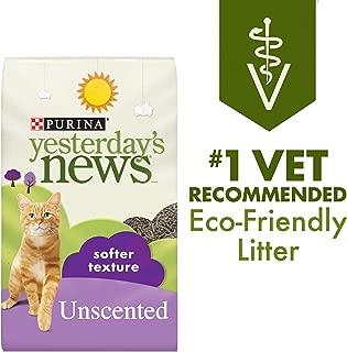 Yesterday's News Purina Non Clumping Paper Cat Litter, Softer Texture Unscented Cat Litter - 26.4 lb. Bag