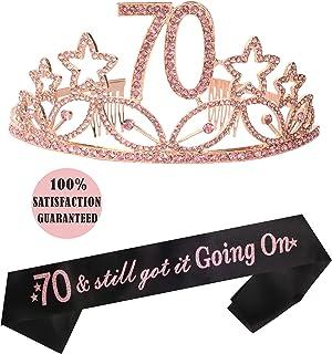 Glitter Birthday Sash Happy 21St Birthday Satin Sash For Girl