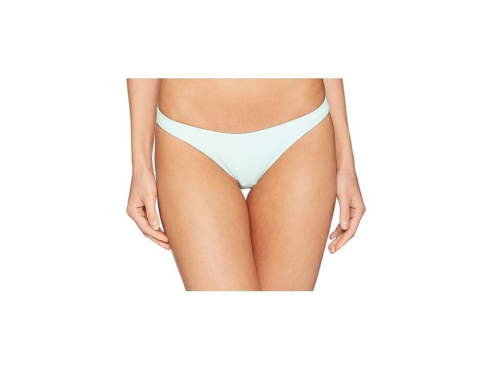 Vitamin A Swimwear California High-Leg Ribbed Bottoms (Glacier/Eco Rib) Women