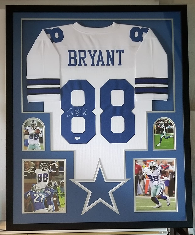Dez Bryant Signed Autographed Jersey Dallas Cowboys Framed PSA DNA ...