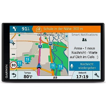 Garmin Drive Smart 61 Lmt D Eu Navigationsgerät Europa Karte Lebenslang Kartenupdates Und Verkehrsinfos Smart Notifications 6 95 Zoll 17 7 Cm Touchdisplay Generalüberholt Navigation