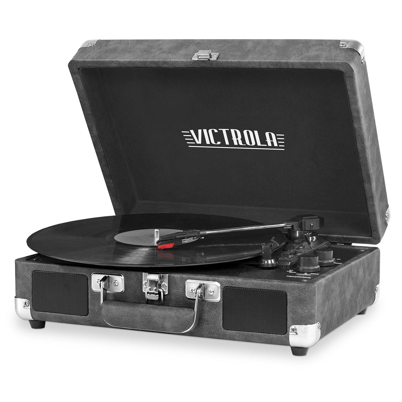 Victrola Bluetooth Suitcase Turntable Speakers