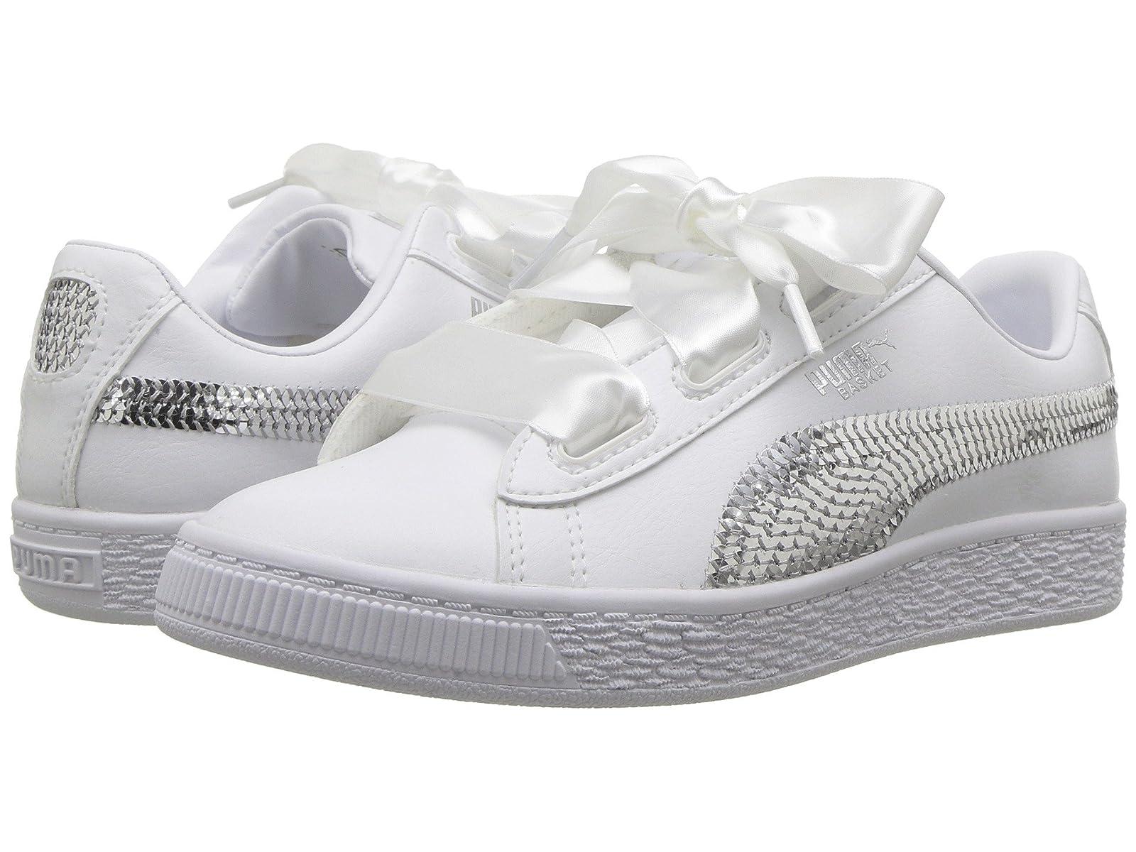 Puma Kids Basket Heart Bling PS (Little Kid)Atmospheric grades have affordable shoes