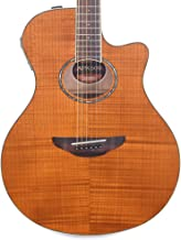 Yamaha APX600FM Flame Maple Amber Acoustic-Electric Guitar