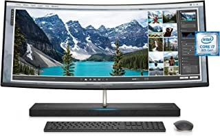 Best HP ENVY 34-inch Curved All-in-One Computer with Amazon Alexa, Intel Core i7-8700T, NVIDIA GeForce GTX 1050, 16 GB RAM, 1 TB hard drive, 256 GB SSD, Windows 10 (34-b110, Silver) - 3LB85AA#ABA Review