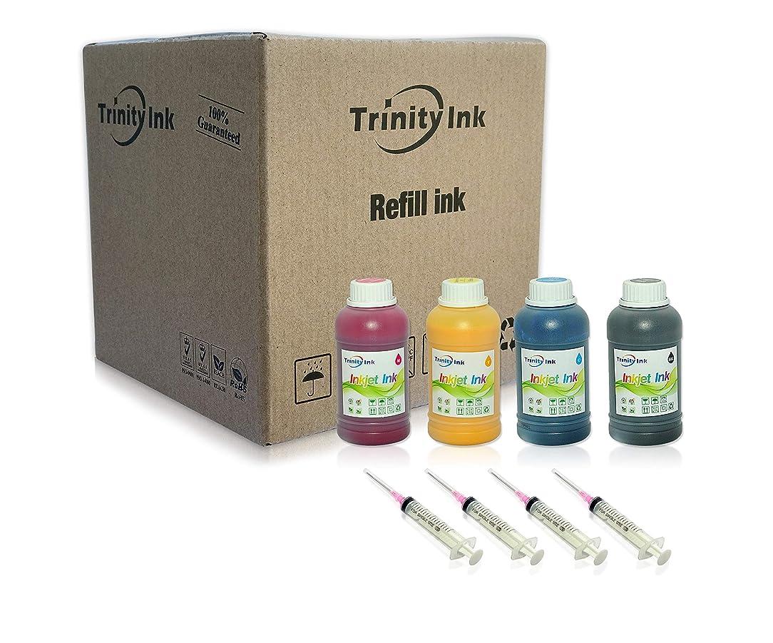 Trinity 4x100ml Sublimation Ink for Stylus C68 C88 CX3800 CX3810 CX4200 CX4800 CX5800 CX7800 Heat Press Transfer on Mugs, Plates, Polyester Shirts