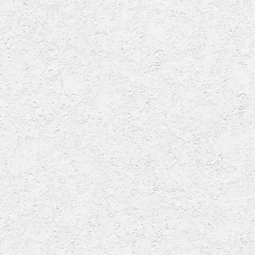 White Textured Wallpaper: Amazon.com