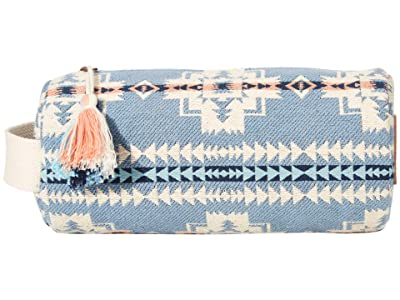 Pendleton Cotton Cosmetic Bag (Chief Joseph Blue) Cosmetic Case