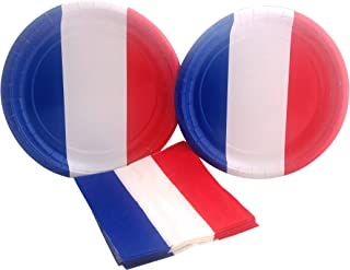Best french themed paper plates Reviews