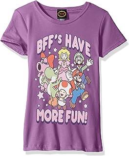 Nintendo Girls' More Fun Graphic T-shirt