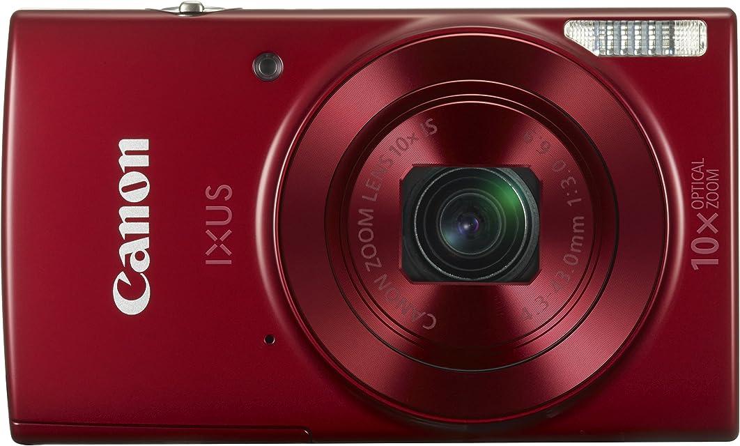 "Canon IXUS 180 - Cámara Digital compacta de 20 MP (Pantalla de 27"" Zoom óptico de 10x NFC WiFi) Color Rojo"