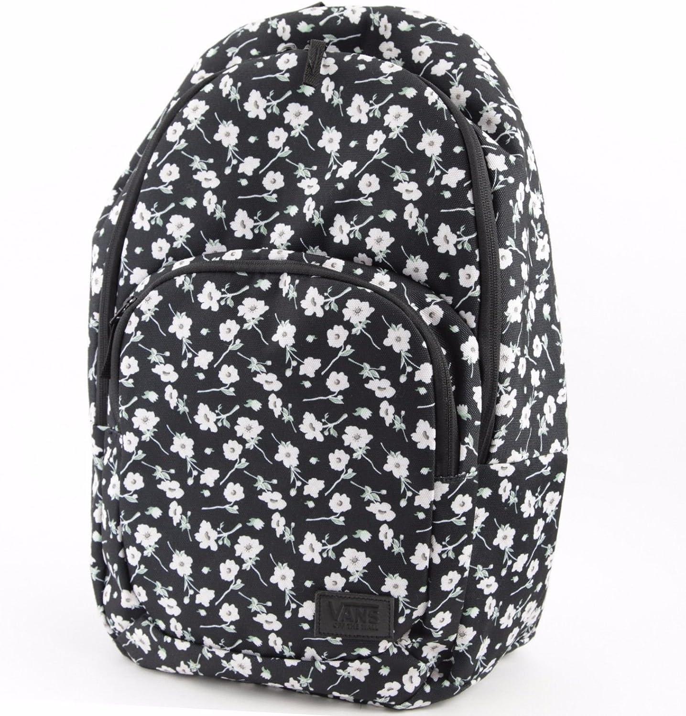 (Black Pink-Floral) - Vans Schooling Backpack