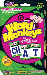 トレンド 英単語 カードゲーム 文字をならべて単語を作ろう Trend Word Monkeys Learning Game T-76301
