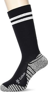 [シースリーフィット] 靴下 グリップパイルミドルラインソックス スポーツソックス ユニセックス 高グリップ 土踏まず 足裏サポート パイル