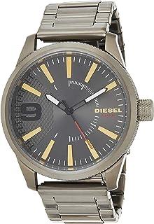 Diesel Men'S Gunmetal Dial Stainless Steel Band Watch - Dz1762,