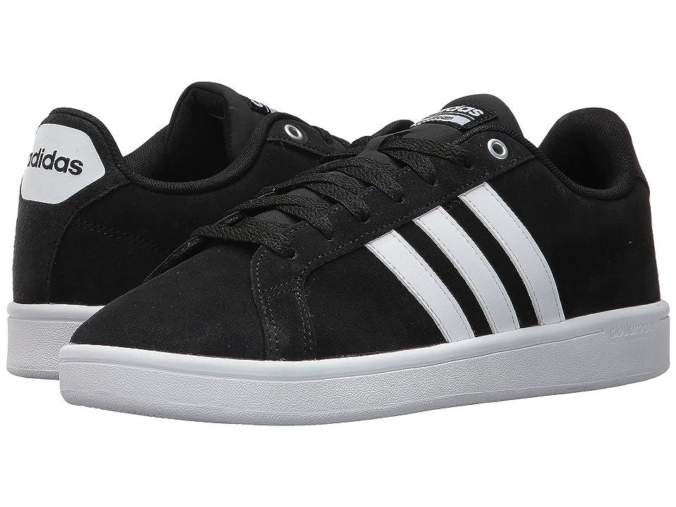 adidas Cloudfoam Advantage (Core Black/Footwear White/Matte Silver) Men