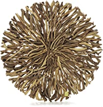 Driftwood Round Wall Art (Large)