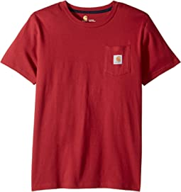 Carhartt Kids - Short Sleeve Pocket Tee (Big Kids)