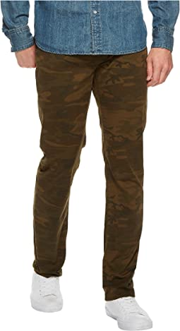 Lucky Brand - 410 Athletic Slim Fit Jeans in Russet Camo