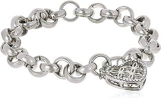 MESTIGE Women Crystal Sweetheart Bracelet with Swarovski Crystals