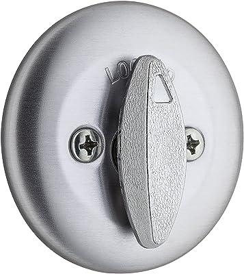 Kwikset 663 Single Sided Deadbolt In Satin Chrome Door Levers Amazon Com