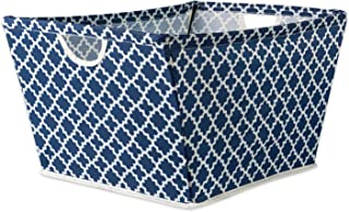 DII Collapsible Polyester Trapezoid Storage Basket, Home Organizational Solution for Office, Bedroom, Closet, & Toys (Medi...