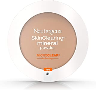 Neutrogena SkinClearing Mineral Powder, Tan80