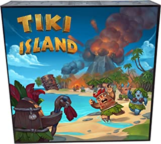 Tiki Island escape from the island board game
