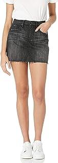 The Drop Women's Rosemore Deconstructed Denim Mini Skirt